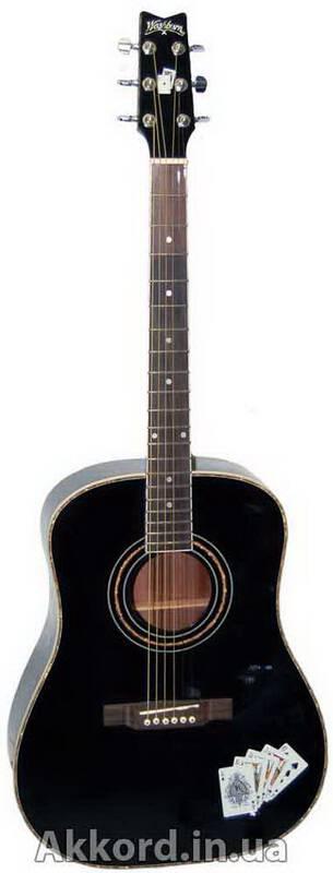 Акустическая гитара washburn 4144 bk