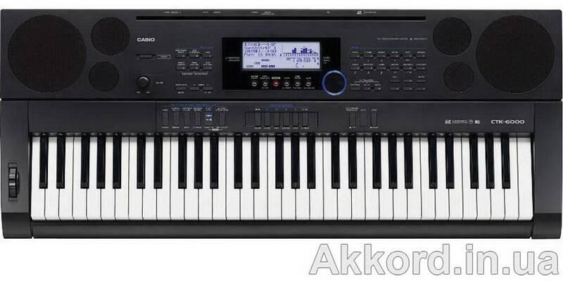 Синтезатор casio ctk 6000 инструкция